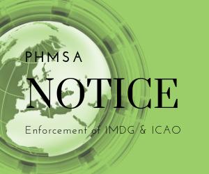 PHMSA Notice